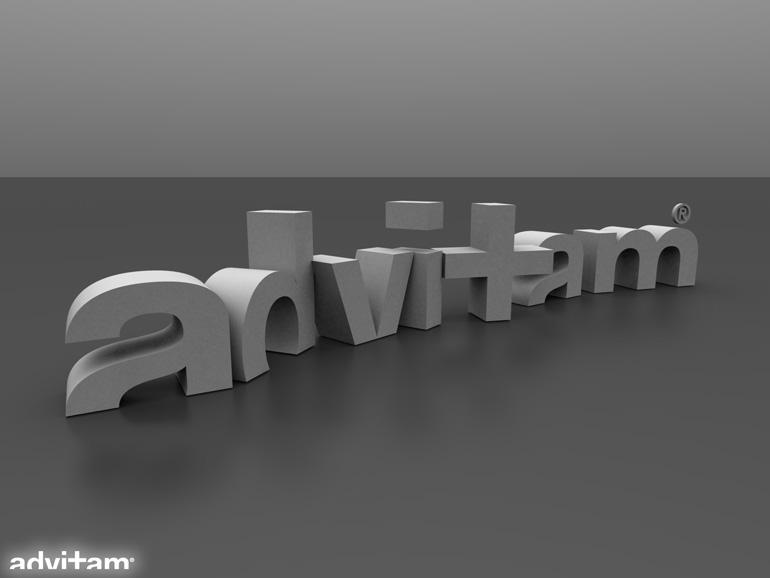 Advitam Logo 3D