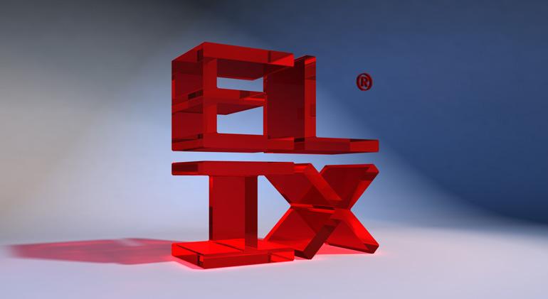 ELIX LOGO 3D