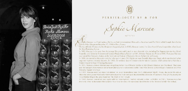 Perrier-Jouët press kit celebrities1
