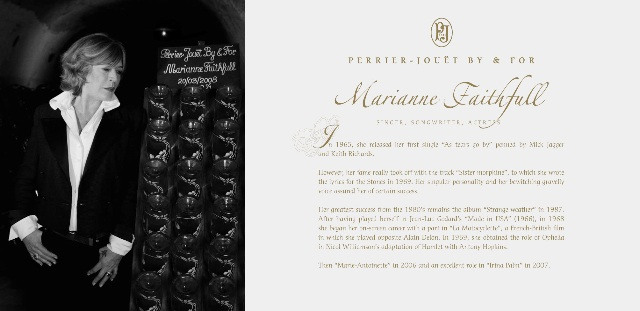 Perrier-Jouët press kit celebrities2