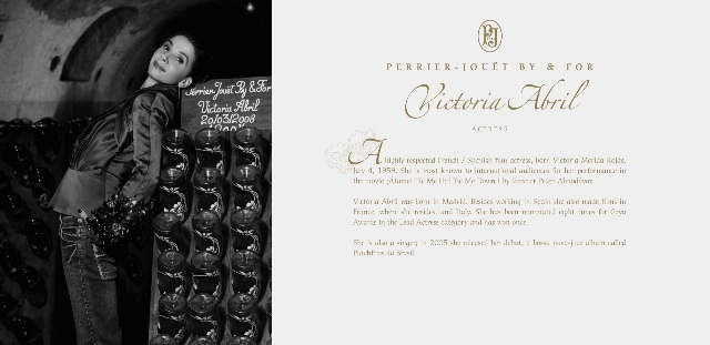 Perrier-Jouët press kit celebrities3