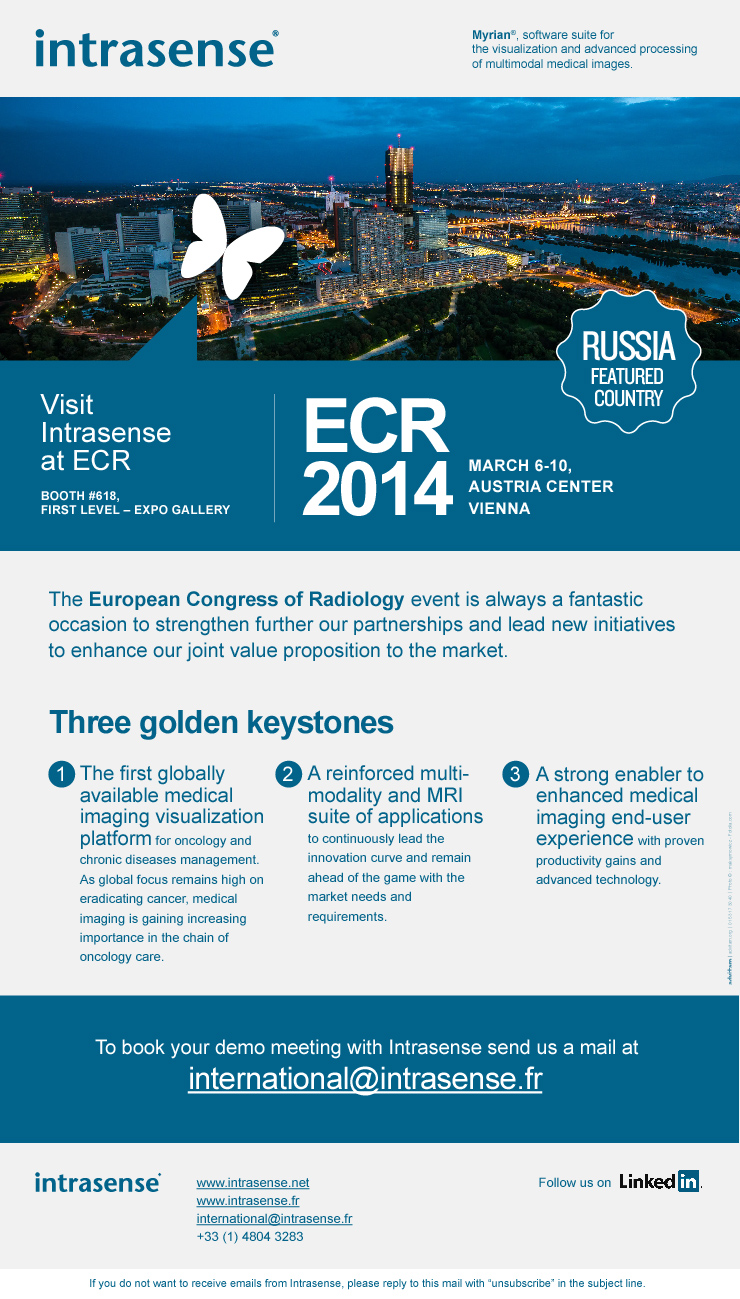 Intrasense ECR Mailing