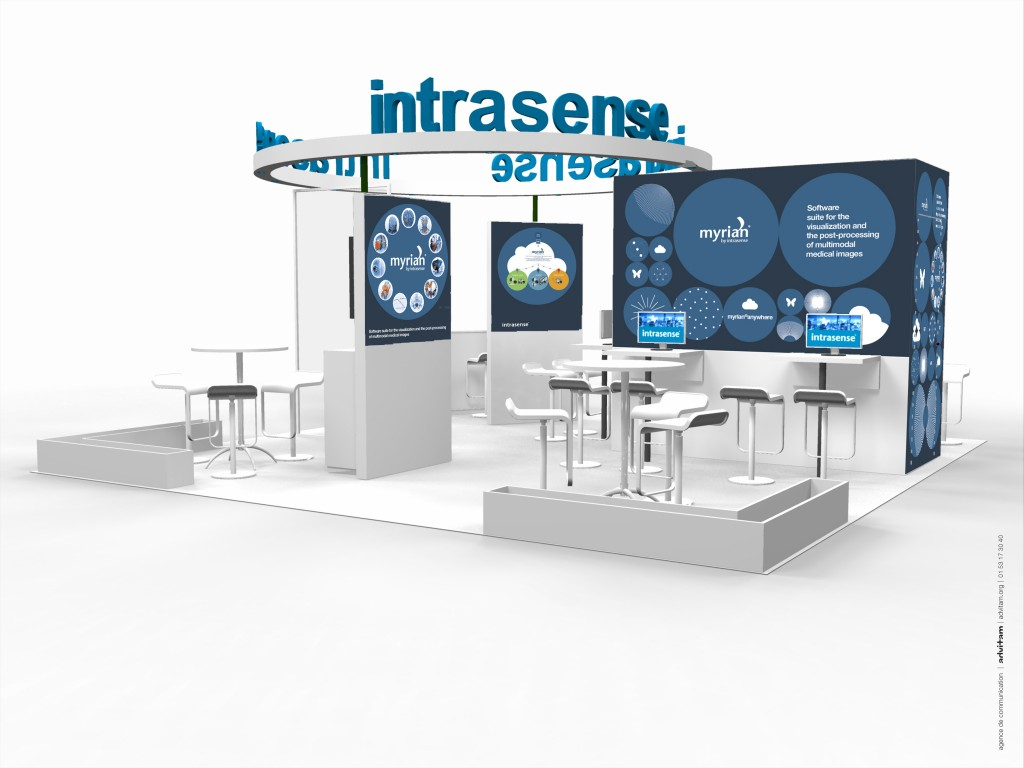 Intrasense RSNA stand back