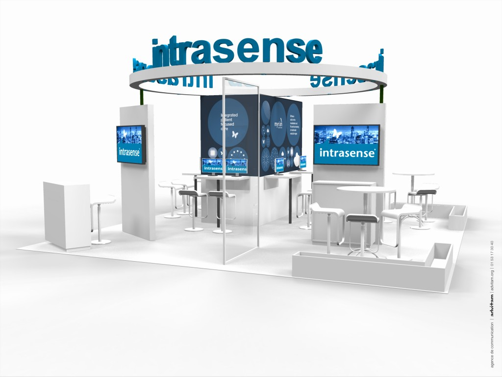 Intrasense RSNA stand front
