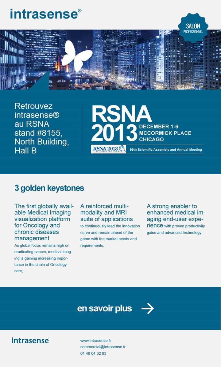 Intrasense RSNA mailing