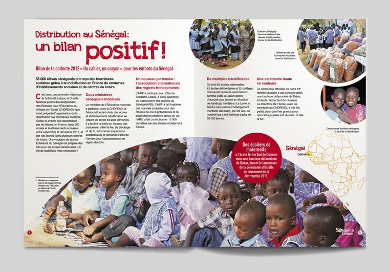 Solidarité Laïque Brochure 2014