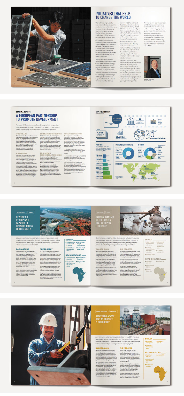 AFD Proparco Brochure EDFI and Climate Change maquette