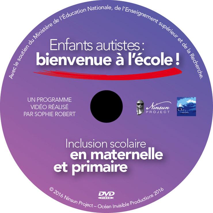 ENFANTS AUTISTE DVD galette