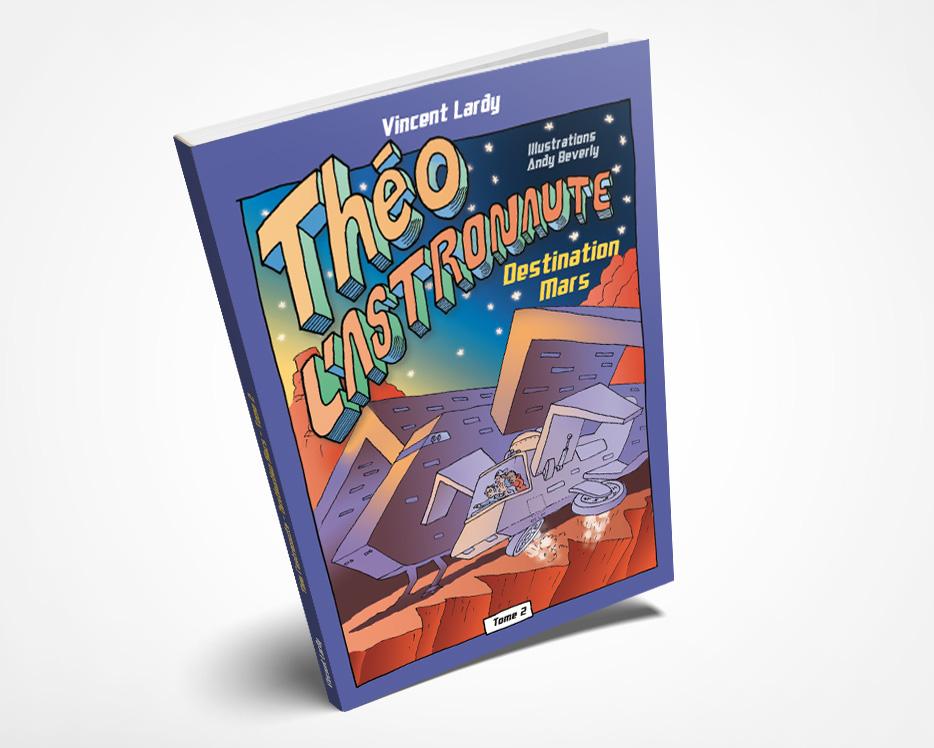 Théo l'astronaute TOME 2 couverture