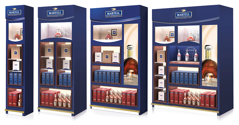 Martell-gamme